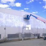 Outside View Of A Modern Commercial Factory Building - Australian Building Maintenance Company