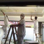 Painters Painting Modern New Paint Job - Australian Building Maintenance Company